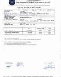 Protelan Akdeniz Üniversitesi Analiz Raporu - 1